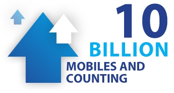 10 billion using mobile marketing and counting