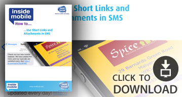 SMS how to guide - Short links and attachments in sms
