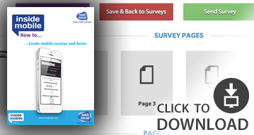 SMS how to guide - Mobile surveys and forms