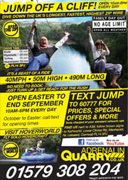 Adrenalin Quarry poster