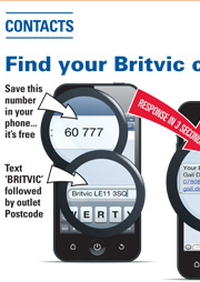 Britvic mobile sms showcase