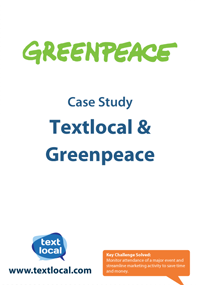 Greenpeace and Textlocal case study