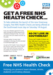 NHS Bristol free health check communication