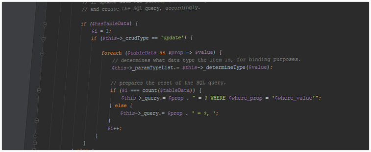 Query code screenshot 2