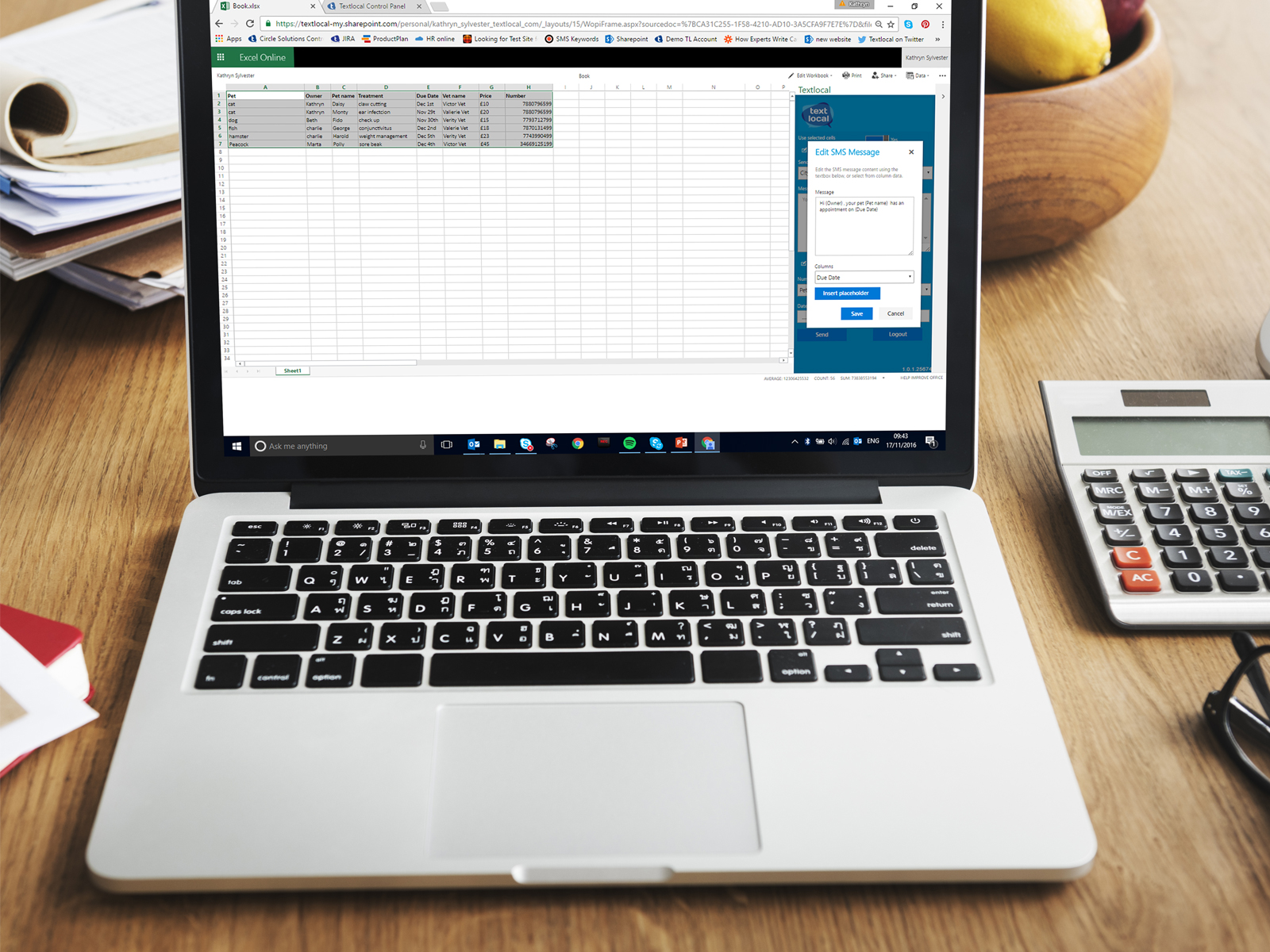 The Microsoft Excel SMS app all SMEs must have
