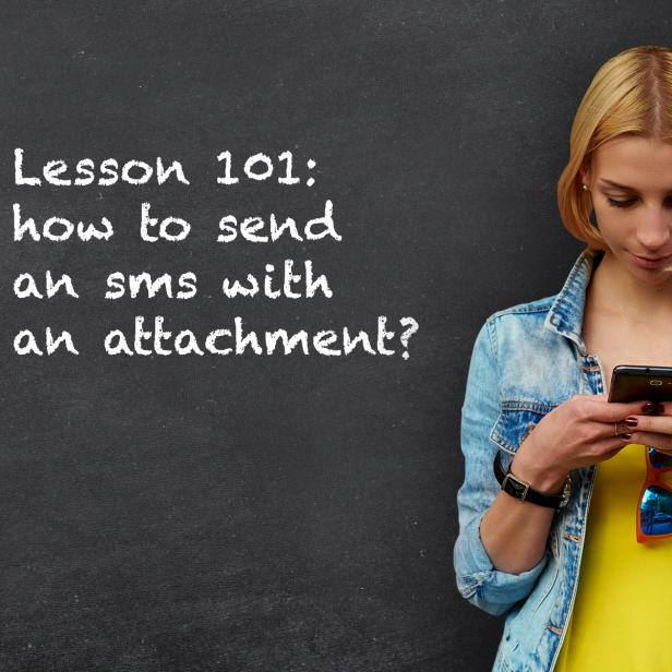 SMS attachments: learn how to send text messages with files