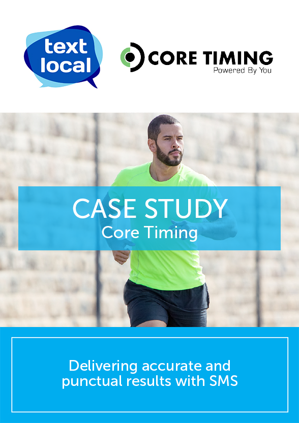 Coretiming delivering accurate and punctual results with SMS